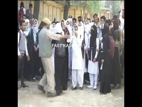 Video: HMT Srinagar Students Protest