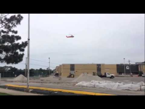 Helicopter Over Oak Lawn Community High School