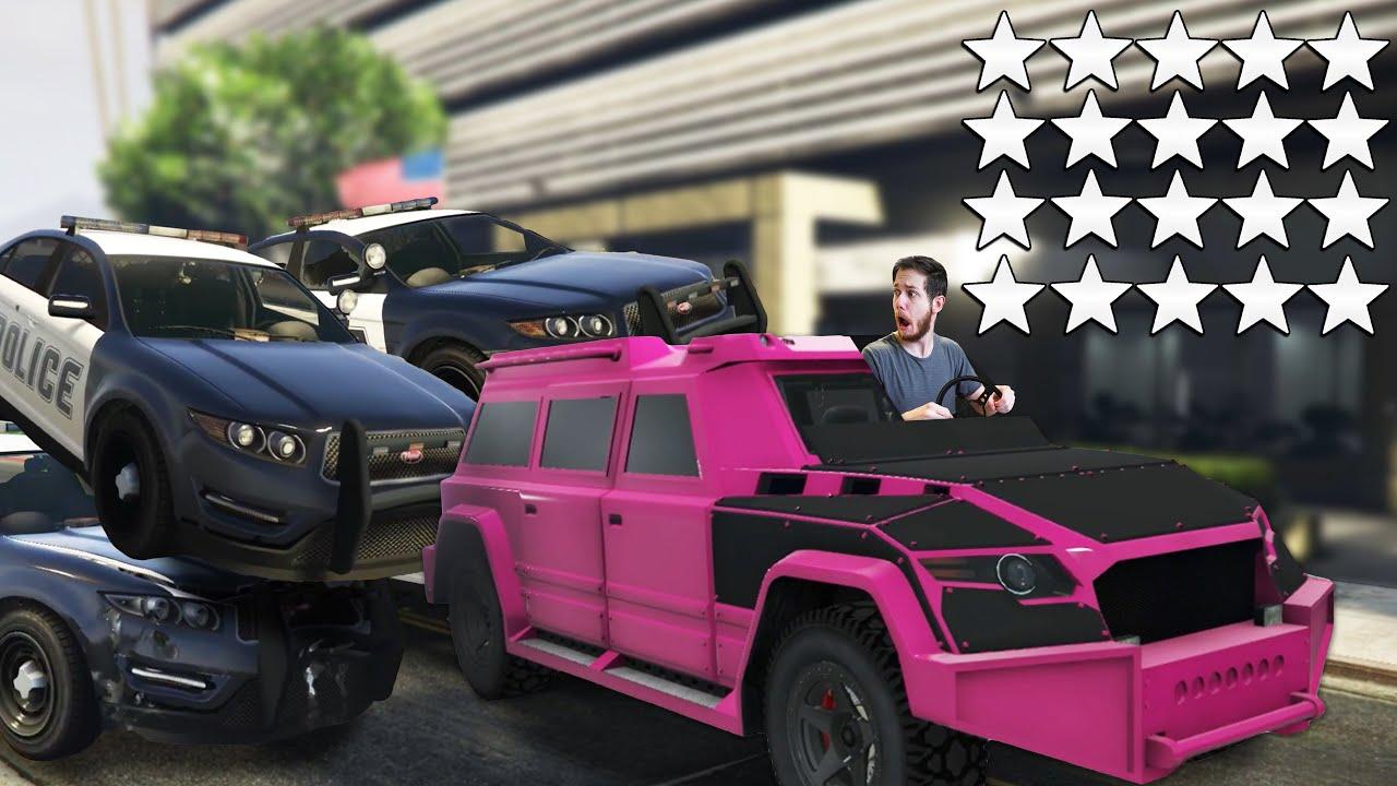 Who Can Escape The Most Cops?! | GTA5