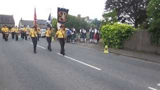 Magheraveely Flute Band @ Brookeborough 2013.