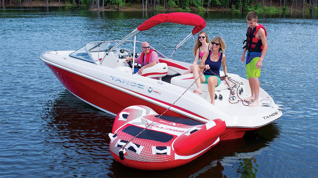 Tahoe Boats 2016 Q7i Runabout Boat Youtube