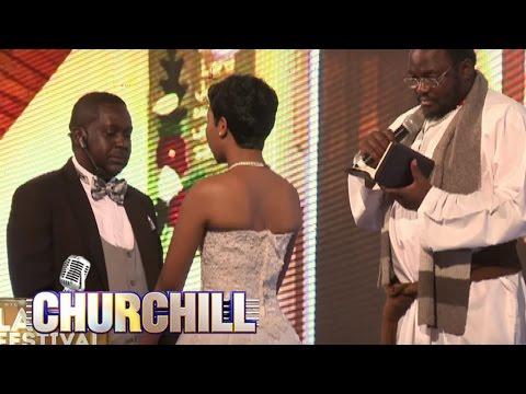 Churchill Show Special Laugh Festival  - Churchill wedding