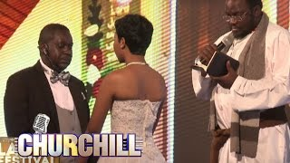 Churchill Show Special Laugh Festival  - Churchill wedding