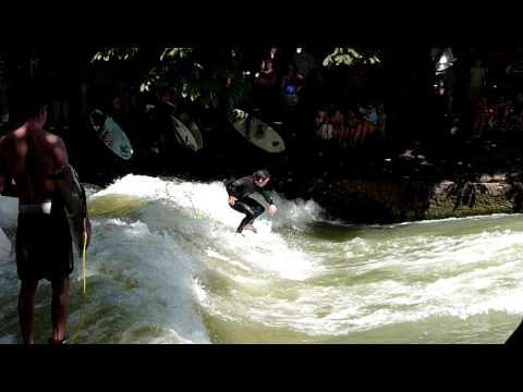 Munich Englischer Garten Surfing - Youtube