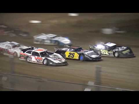 IMCA Late Model feature Independence Motor Speedway 7/21/18