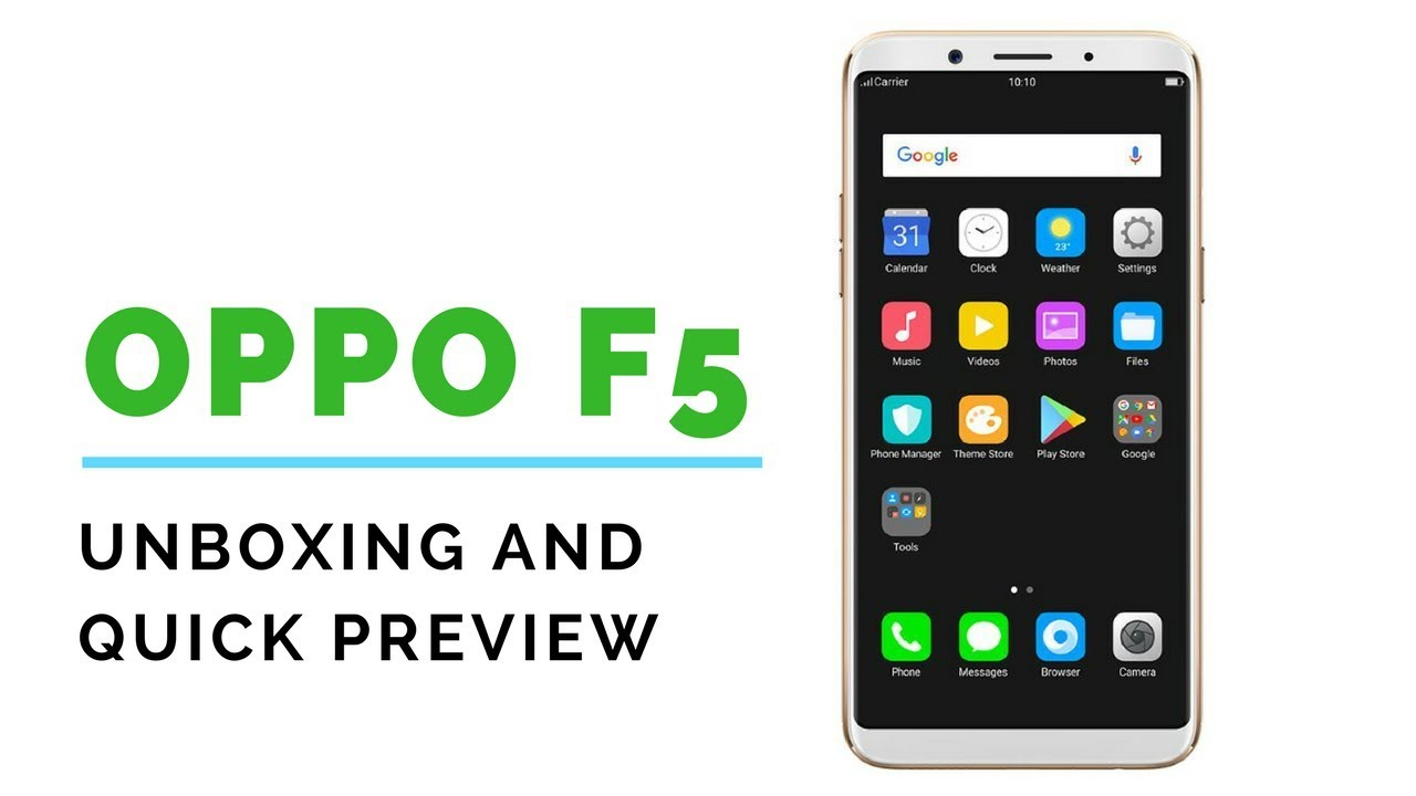 Review: Oppo F5 - Channel Post MEA