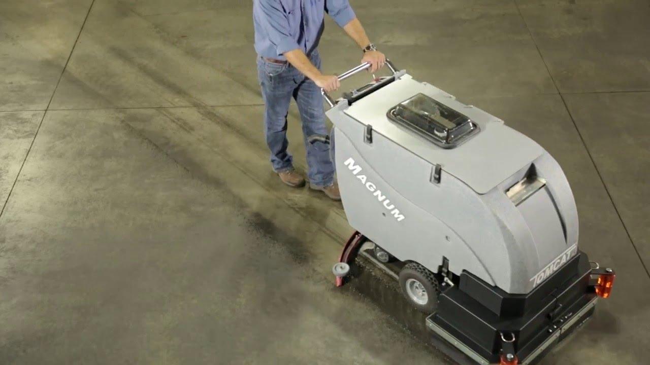 Surge Industrial Floor Scrubber Cleaner
