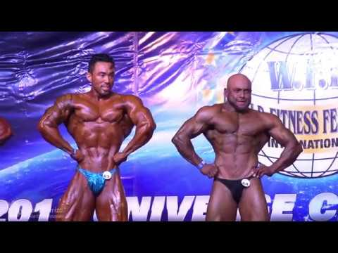 7-WFF. Mr. Universe Rio 2017: Men's Performance