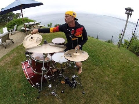 Chad Smith - Drum Solo - GoPro