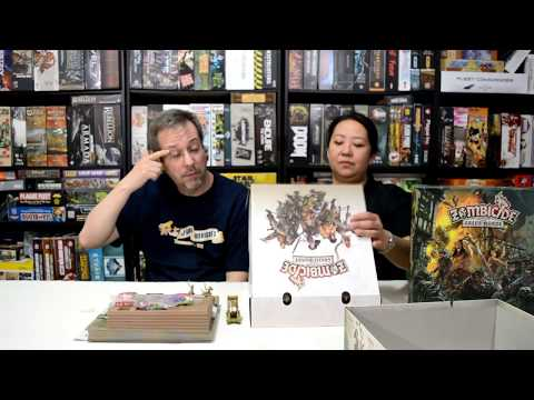 Unboxing of Zombicide Green Horde by Cool Mini or Not.