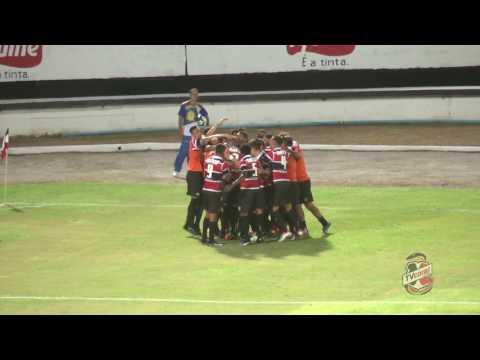 TV Coral - Santa Cruz 1x0 Campinense - Copa do Nordeste 2017