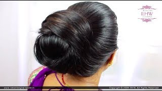simple khopa hairstyle