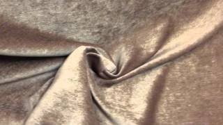 Golden Brown Chenile Upholstery / Drapery & Curtain Fabric By The Yard