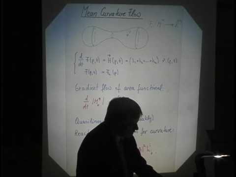 Marston Morse - Mean Curvature Flow with Surgeries - Gerhard Huisken