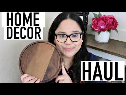 HOME DECOR HAUL | WILLIAMS SONOMA, OVERSTOCK, TJMAXX & MORE