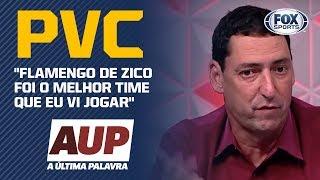 """""""FOI O MELHOR TIME QUE EU VI JOGAR NA MINHA VIDA"""", diz PVC de Flamengo de 1981"""