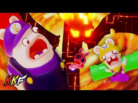 Lava Pit-7: Spawny Snatched! (vs Bwario & Bwaluigi) - Mario + Rabbids Kingdom Battle