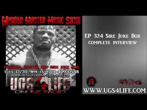 Ep 324   Original Ghetto Boy Sire Juke Box Complete Interview
