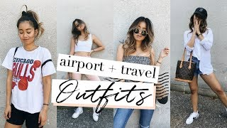 AIRPORT / TRAVEL OUTFITS | rachspeed