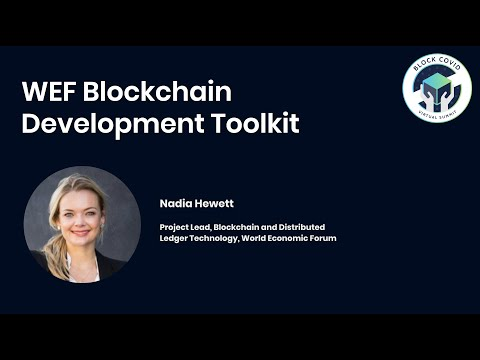 WEF Blockchain Development Toolkit | Block COVID