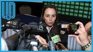 Ana ve en en desarrollo de las jugadoras jóvenes como la clave