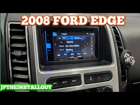2008 Ford Edge Radio Removal And Jvc Double Din Install