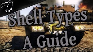 Shell Types - A Guide - M46 Patton Tiger - (War Thunder Gameplay)