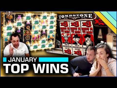 Top 8 Slot Wins of January 2020
