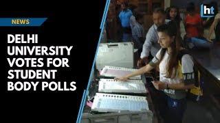 NSUI vs ABVP: Delhi University votes for student body