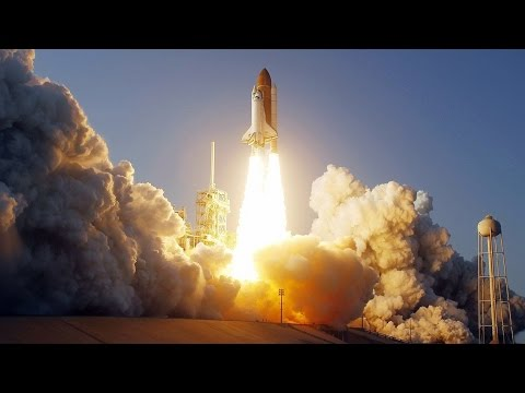 Toàn cảnh phóng tàu con thoi lên vũ trụ