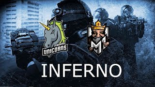 Codewise Unicorns vs M1 Gaming Finał ESL Spring Inferno