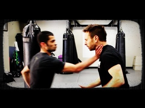 Krav Maga Official Technique: One-Handed Choke Defense w/ AJ Draven - KMW How to Video