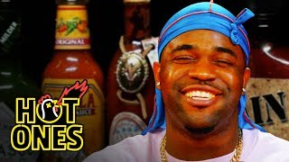 ASAP Ferg Harlem Shakes While Eating Spicy Wings Hot