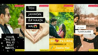 Gambar cover Bindiya chame chudi khanke Full Screen WhatsApp status #SalmanKhan #DiyaMirza #AlkaYagnik #Sonunigam