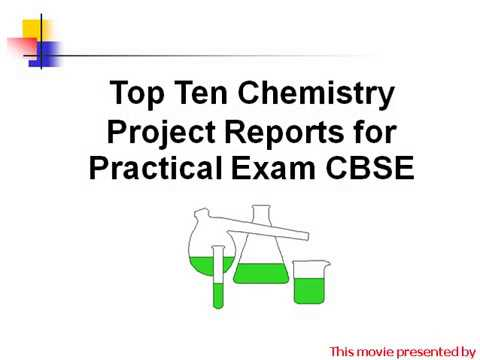 chemistry project report topics cbse xii Chemistry experiment, Chemistry  practical,