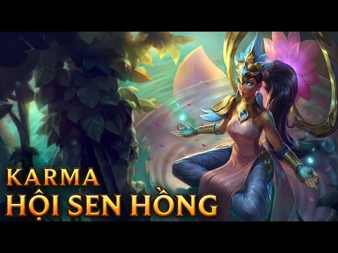 Order of the Lotus Karma - Skins lol