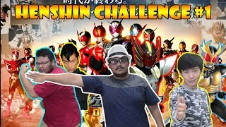 HENSHIN CHALLENGE #1-  LOCAL DAN INTERLOCAL?? (INTERNATIONAL MAKSUDNYA)