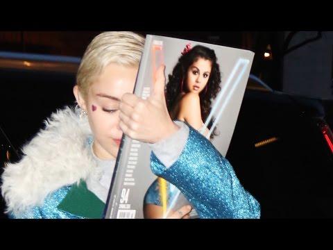 Miley Cyrus DISSING Selena Gomez Again!