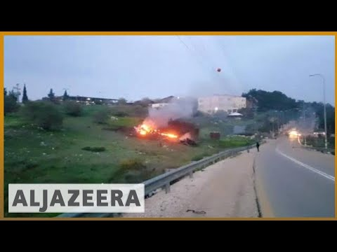 Israel Fighter Jet Crash Ratchets Up Regional Tensions