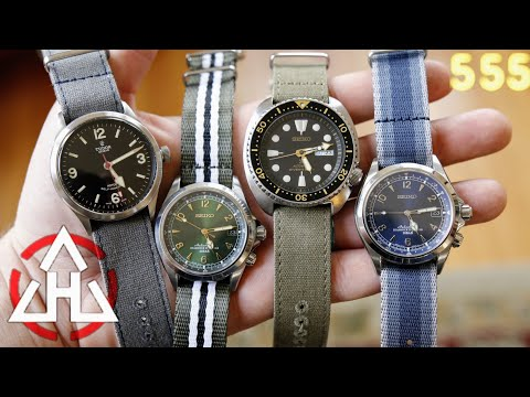 HAVESTON Fabric And Canvas NATO Watch Straps: Improving The Classic Design? Review By 555 Gear