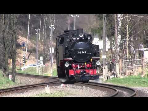 German Narrow Gauge Route from Zittau to Bad Oybin