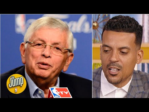'He took a lot of my money': Matt Barnes fondly remembers David Stern | The Jump