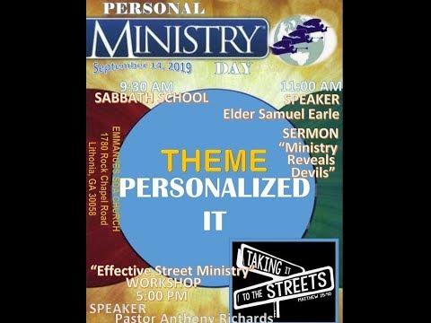 Emmanuel SDA Church - Personal Ministries Day!  - 9/14/19