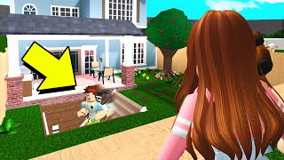 Poke Hid This In His Backyard.. You Won't Believe What It Was! (Roblox Bloxburg)