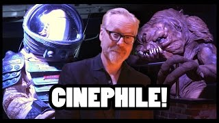 Adam Savage Shows Off Homemade Movie Props! - CineFix Now