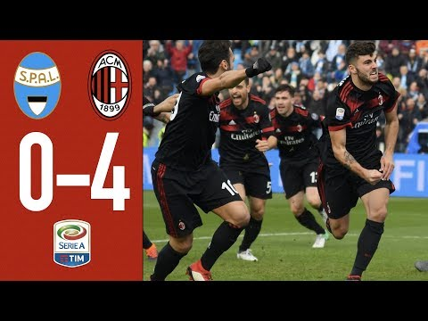 Highlights - SPAL 0 - 4 AC Milan - Serie A 2017/18