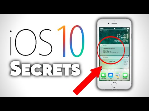 Top 5 SECRET Features on IOS 10 | iPhone 7 and iPhone 7 Plus ( Facts about iPhone )