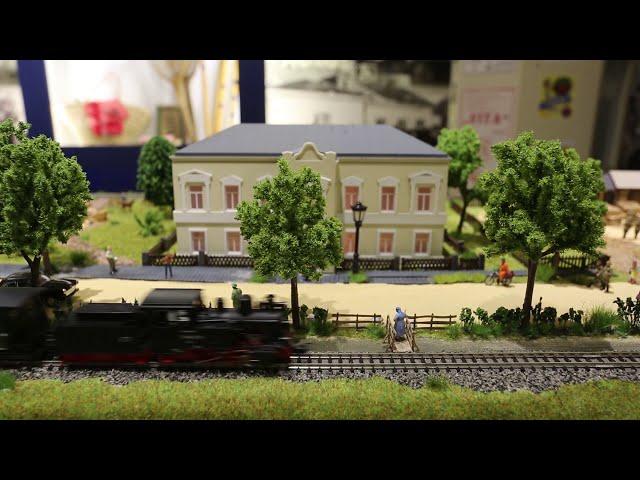 Traukinukas muziejaus ekspozicijoje