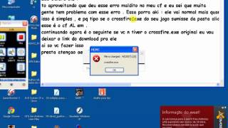 Como Tirar o Erro -- File is changed : W[2007] L[0] Do Crossfire AL