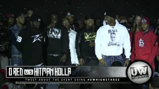 Hitman Holla vs O Red